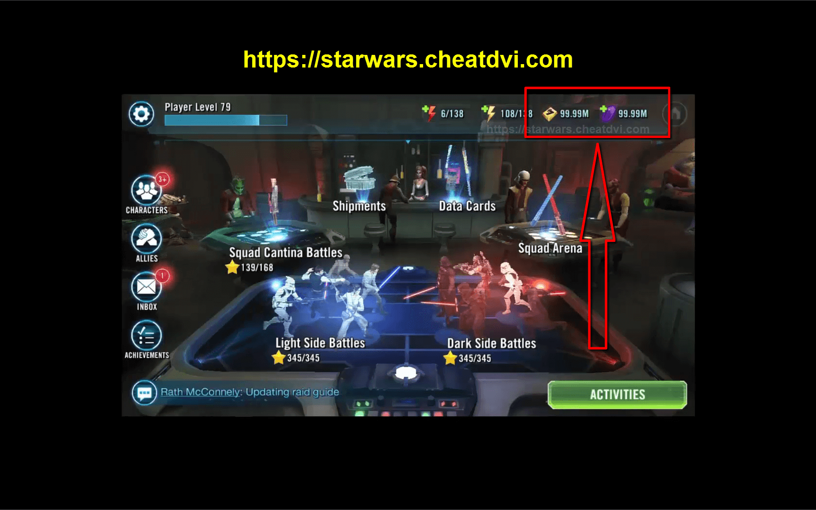 Star Wars Galaxy of Heroes Hack | Get Unlimited Crystals and